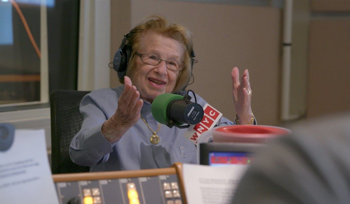 We ask Dr. Ruth Westheimer all about the documentary Ask Dr. Ruth