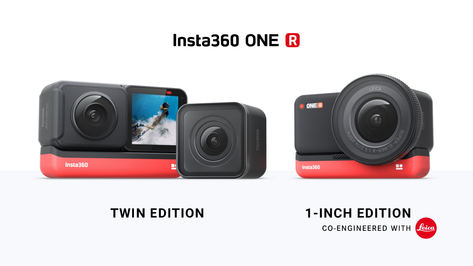Insta360 One R editions