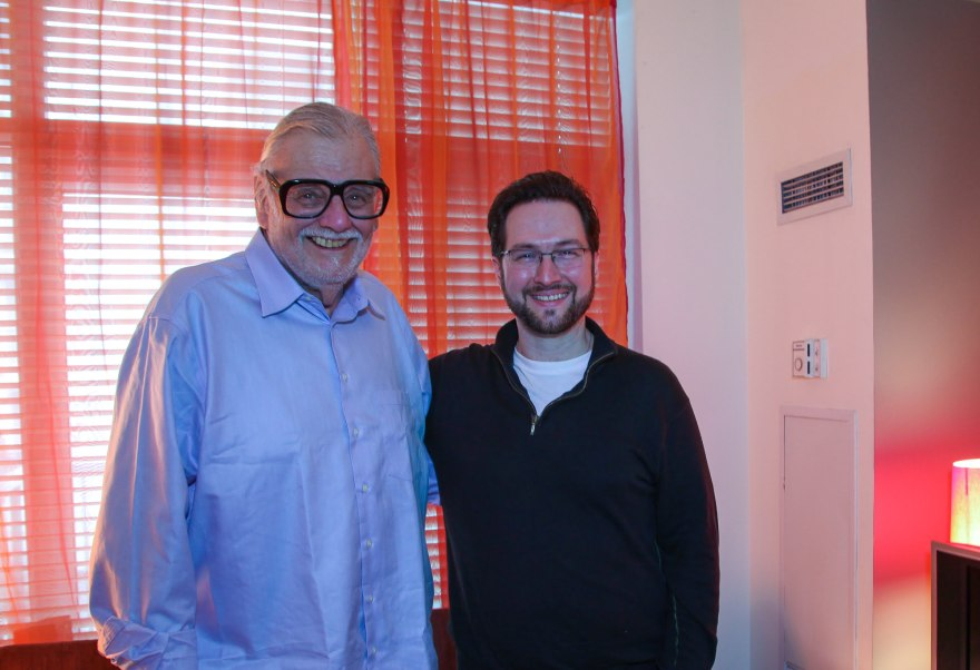 George A. Romero and I