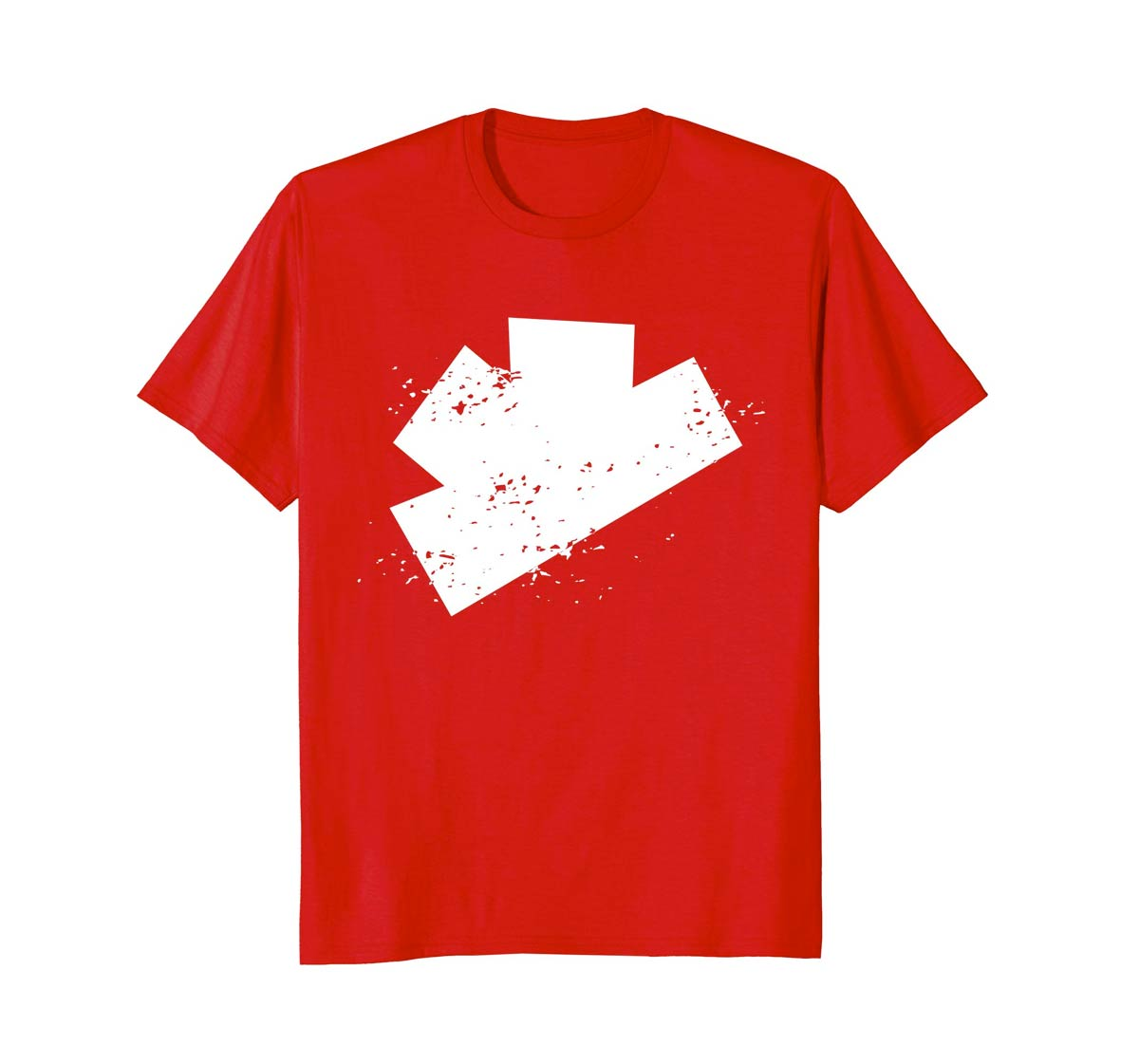 The Gatecrashers Big Logo Tee Red