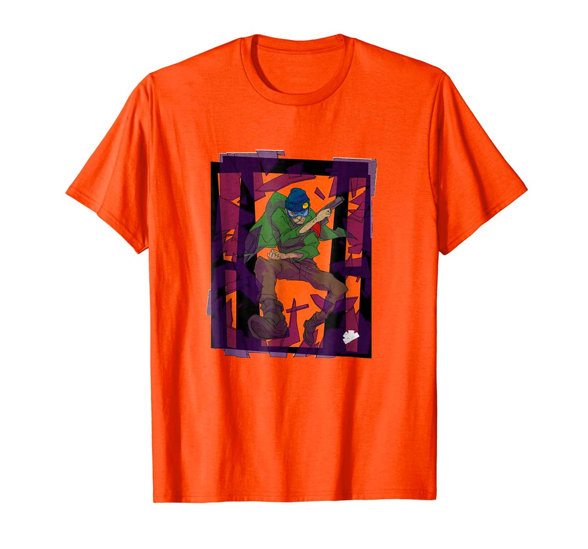 Detective Thatch Window Crash Tee