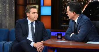 """CLUELESS GASBAG Jim Acosta on Colbert's 'Late Show': """"We're Not Supposed to be the Story - That's Not Why I'm Here"""" (VIDEO)"""