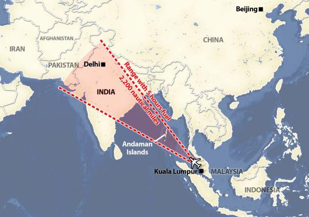 Fasa Kedua Operasi Mencari Pesawat MH370