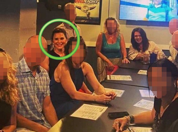 'I Didn't Stop to Think About It' – Whitmer 'Apologizes' After Getting Caught Violating Her Own Covid Orders at Lansing Dive Bar This Weekend