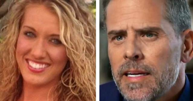 Deadbeat Dad Hunter Biden Renting 12,000-Per-Month Hollywood Hills Home While Avoiding Paying Child Support to Baby Mama Lunden Roberts