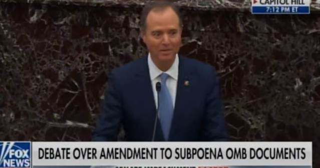 HE DID IT AGAIN! LIAR Adam Schiff Makes Up ANOTHER Fake Trump Quote in His Opening Argument (VIDEO)