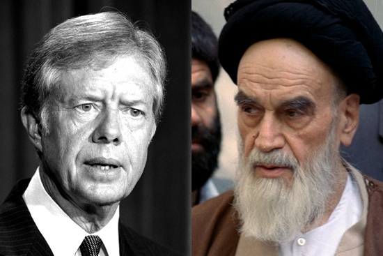 carter iran khomeini