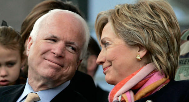 RINO STOOGE John McCain Delivered Trump Dossier to FBI for Investigation