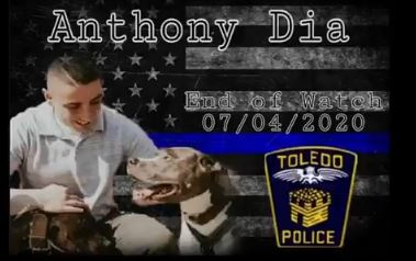 """Tell My Family I Love Them"" – Not Making Headlines Today: Last Words of Murdered Police Officer Anthony Dia to Police Dispatch"