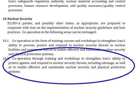 sabotage iran pact