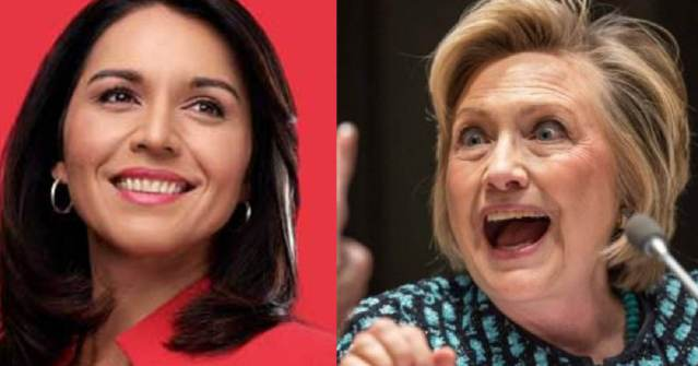 Tulsi Gabbard Files $50 Million Defamation Lawsuit Against Hillary Clinton For Pushing 'Conspiracy Theory' About Her