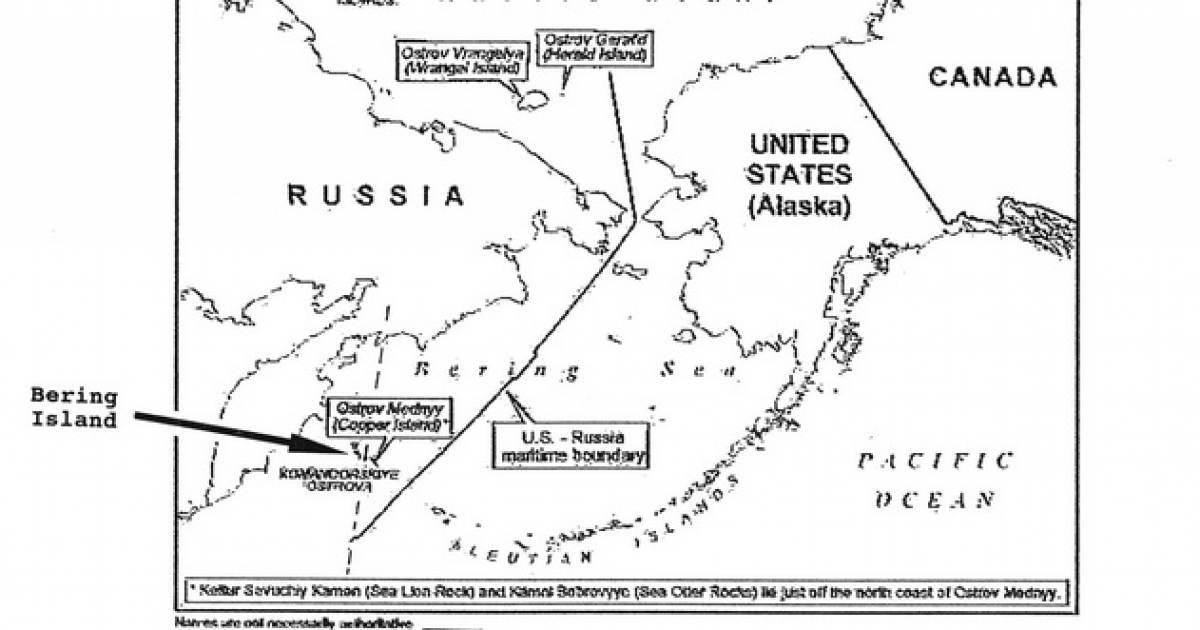 Putin Builds Naval and Army Base on Wrangell Island
