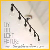 How To Make A Fabulous Plumbing Pipe Light Fixture