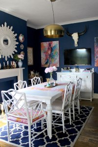 How to Decorate with Vintage Chinoiserie Finds