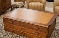 Antique Flat File Cabinet | Antique Furniture