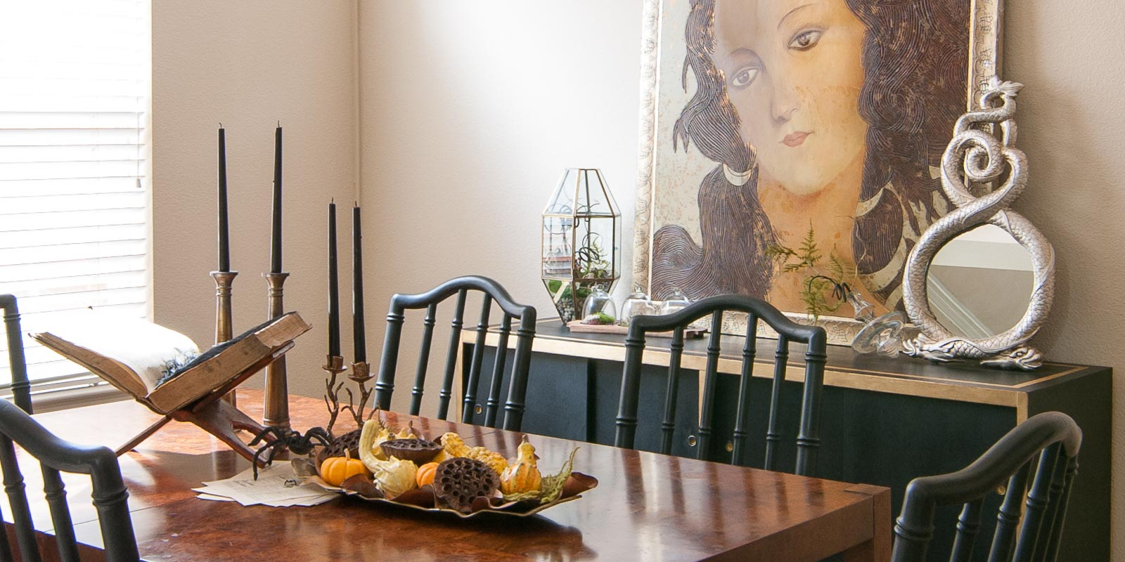 Halloween Dining Room A Study of the Curious and
