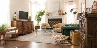 A Gathered Eclectic Living Room Reveal - The Gathered Home