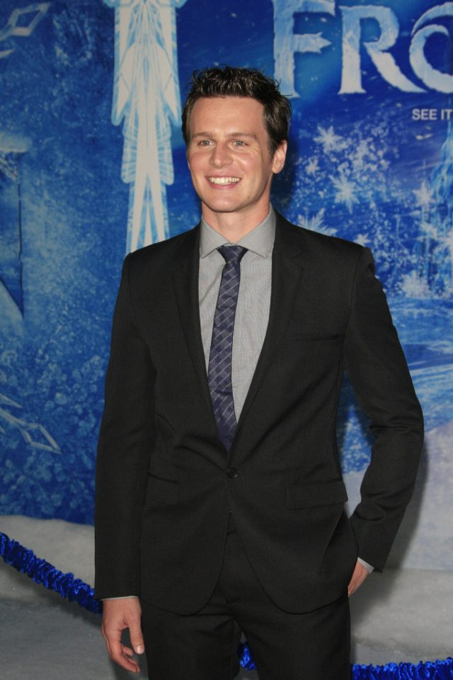 Openly gay actor Jonathan Groff