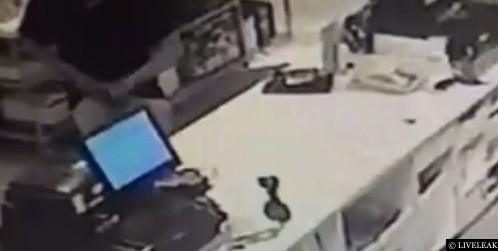 Man cuts off penis in shop