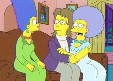The-Simpsons-Patty-Gay