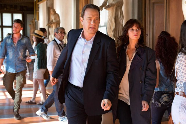 film review of Inferno with Tom Hanks