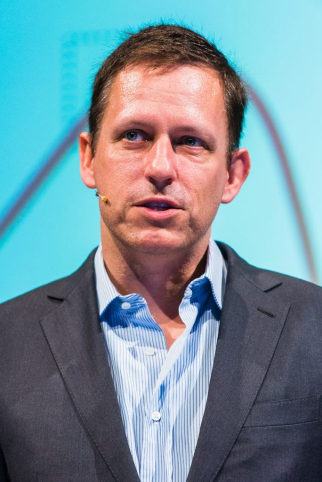 How isPeter Thiel voting in presdential election