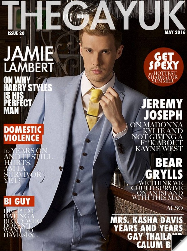 Issue 20 Cover Jamie Lambert