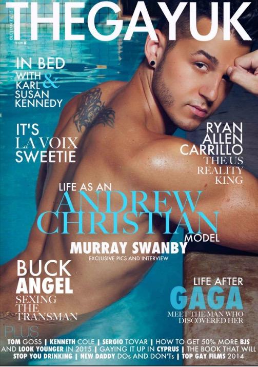 Issue 8 Murray Swanby TheGayUK