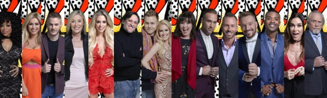 Which celebrities are in Celebrity Big Brother
