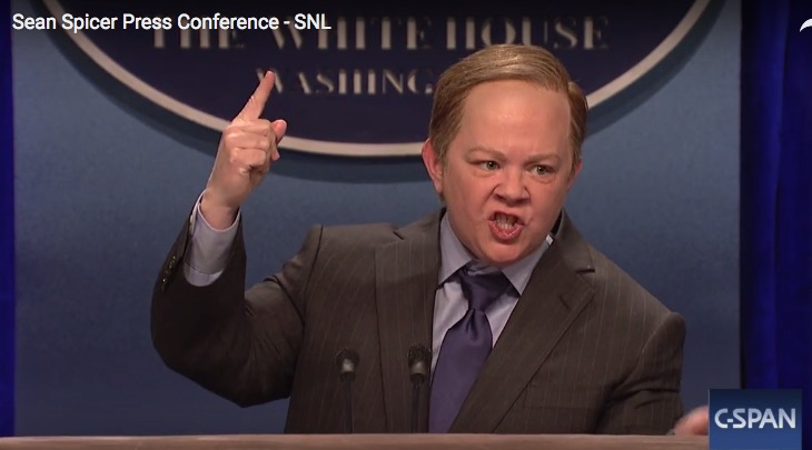 Melissa McCarty as Sean Spicer