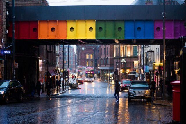 The rainbow bridge leeds