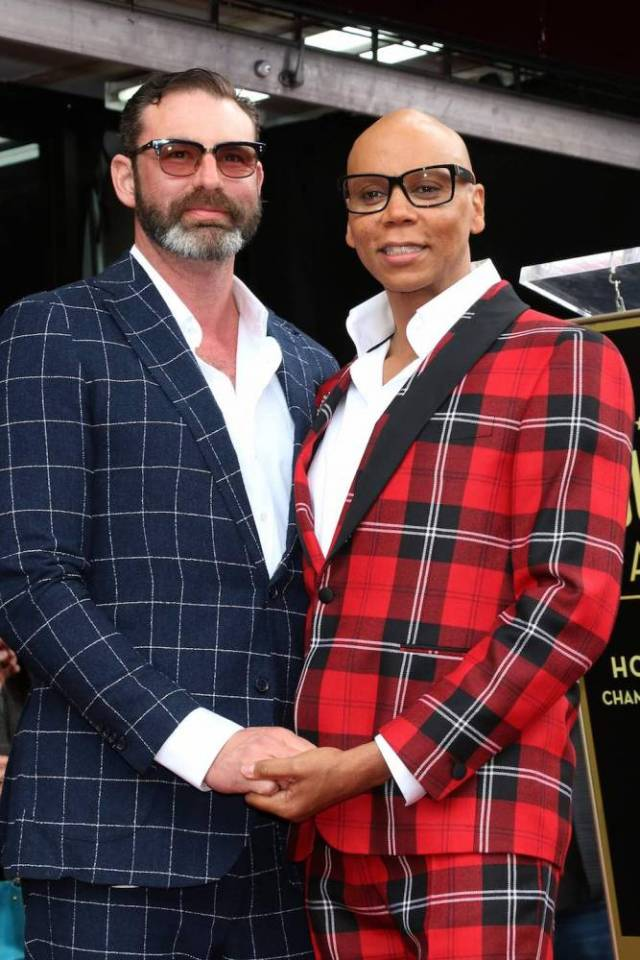 Is Rupaul married?