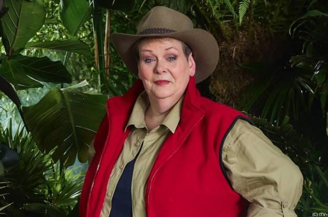 Is Anne Hergety from I'm A Celebrity a lesbian,