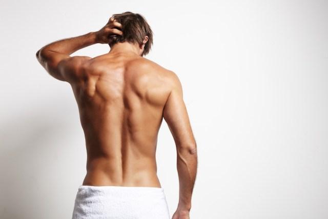 Is it normal to have darkened skin around your anus
