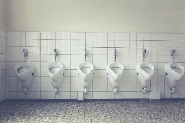 Is it legal to have sex in public toilets in the UK?