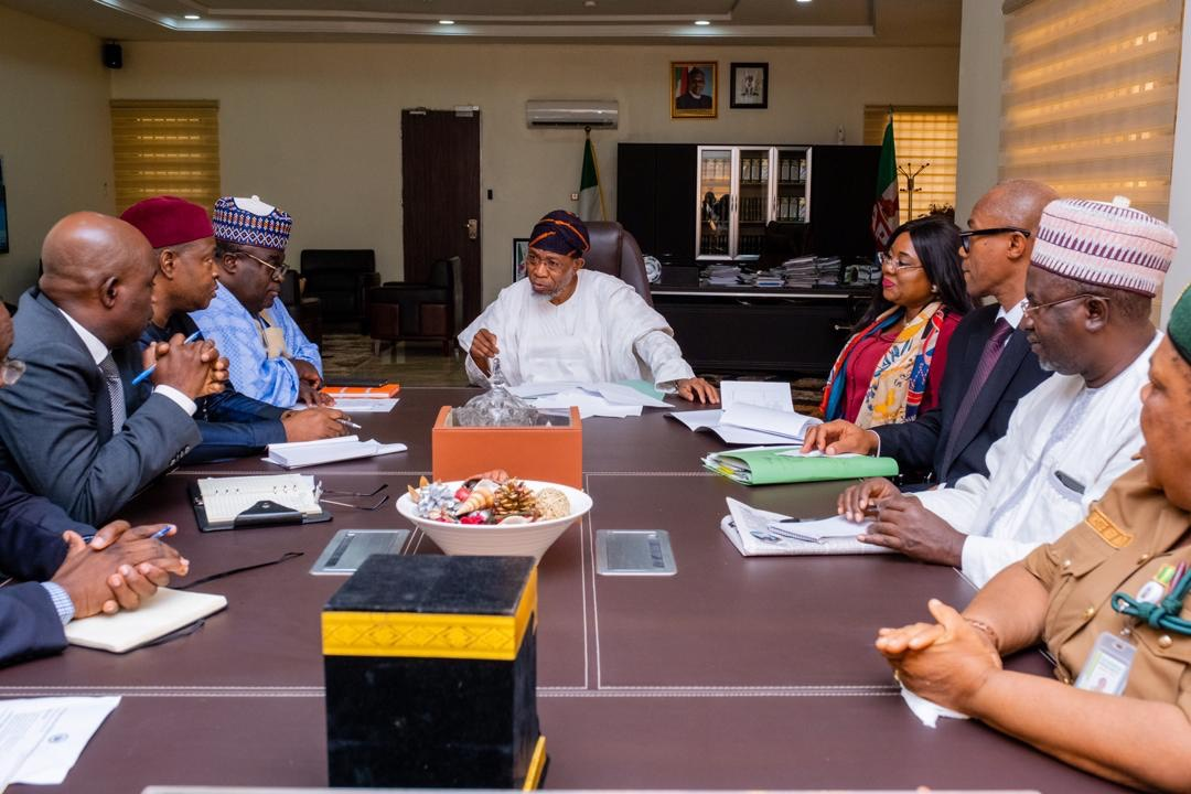 In Pictures, Aregbesola Hosts Management Team Of Infrastructure Concession Regulatory Commission (ICRC) 