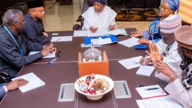 Photo of In Pictures, Aregbesola Receives Briefing From Leadership Of NCFRMI