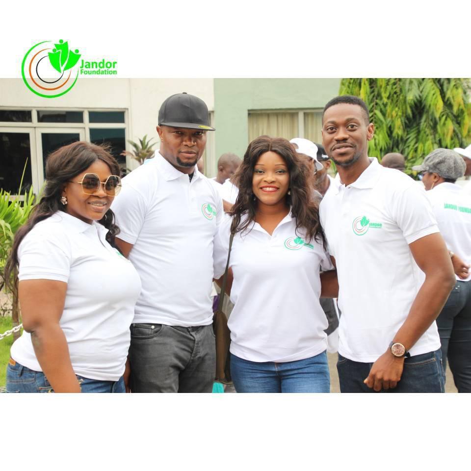 Lateef Adedimeji Is Jandor Foundation's Ambassador, Group Inaugurates Team Jandor In Agege