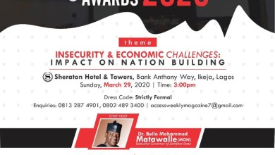 Photo of Access Weekly Magazine Colloquium, Award Holds March 29