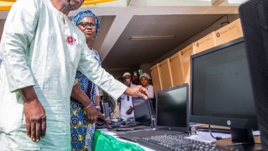 Photo of Kwara Gov Distributes Computers To Civil Servants