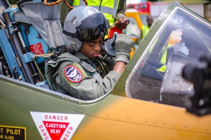 NAF Women-of-War Tackle Insurgency from the Air