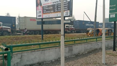 Photo of Residents Cries Out As Shipping Company Causes Traffic Bottleneck In Apap