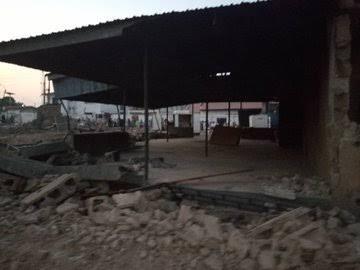 Kwara Begins Demolition Of Saraki's Property On Disputed Land
