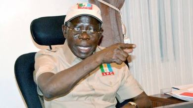 Photo of Oshiomhole, APC And Bayelsa Conundrum By Muiz Banire