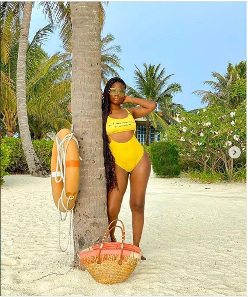 In Pictures, Davido's Baby Mama, Sophie Momodu Shows Off Super Curves