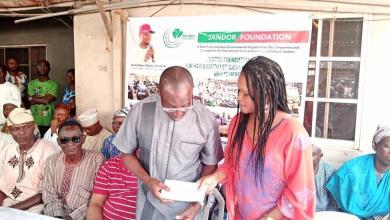 Photo of Jandor Takes Food Bank, Start-up Fund Programmes To Grassroots, Visits Ojodu