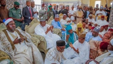 Photo of Lawan Graces Emir Of Bade's Daughters' Wedding In Yobe