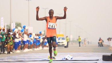 Photo of Breaking: Kenya's David Barmasai Tumo Wins The 2020 Lagos City Marathon