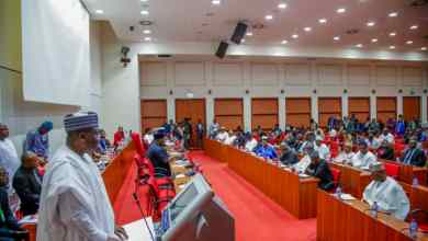 Photo of Lawan Inaugurates Senate 56-member Constitution Review Committee