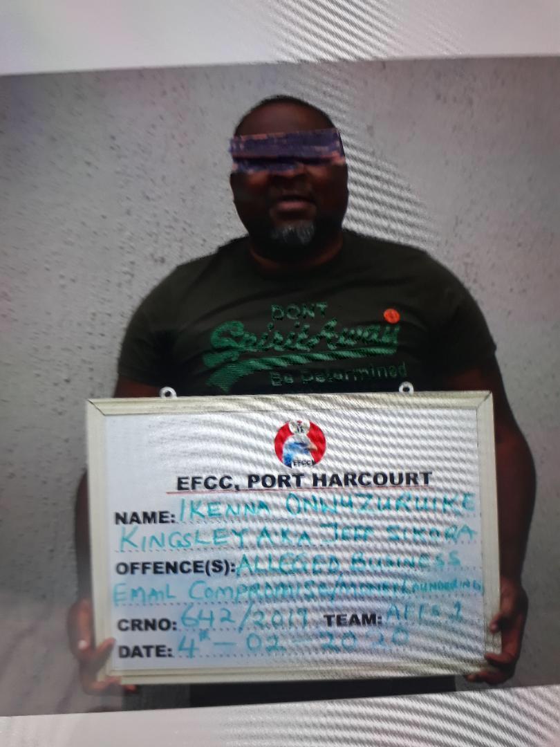 EFCC Arrests Suspected Internet Fraud Kingpin in Umuahia